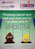 Thinking about wee and poo now youre on your way to school