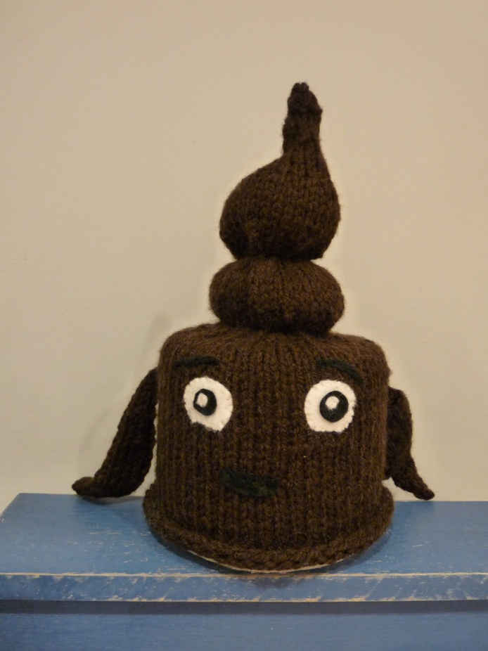 Knitted poo