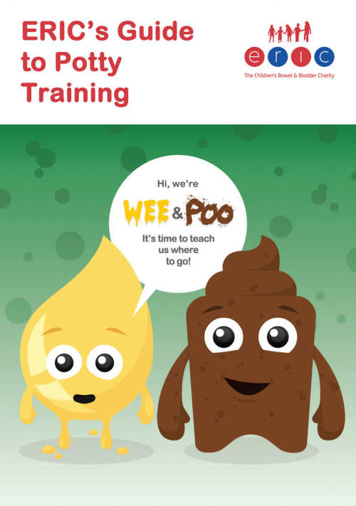 Potty training leaflet cover