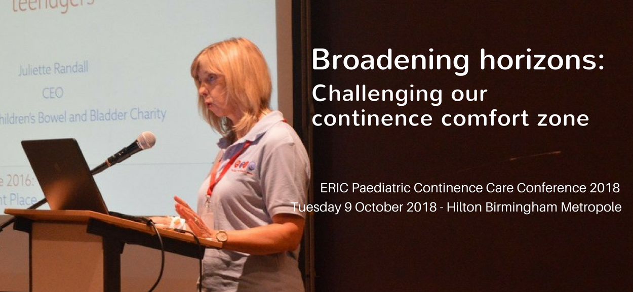 Broadening horizons: Challenging our continence comfort zone