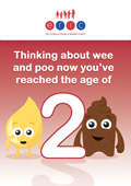 Thinking about wee and poo now youve reached the age of 2