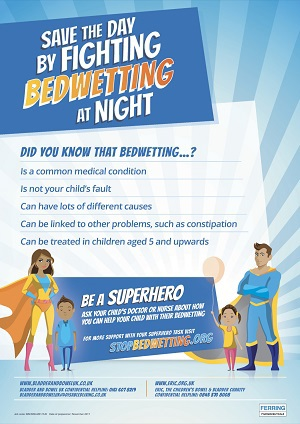 Stop bedwetting poster smaller