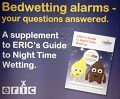 Bedwetting alarms - your questions answered