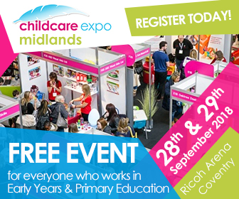 Childcare expo Midlands Sept 2018