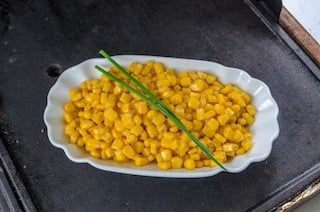 Bowl of sweetcorn