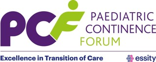 Paediatric Continence Forum logo and transition awards