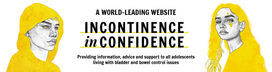 Incontinence inconfidence Australian website for teenagers