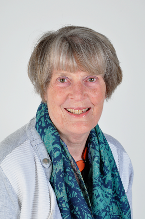 Penny Dobson, Chair of the PCF