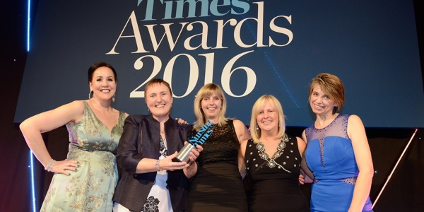 ERIC Nurse project wins Nursing Times Awards 2016