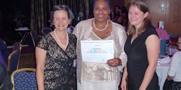 Childhood Continence Care Award winner 2014