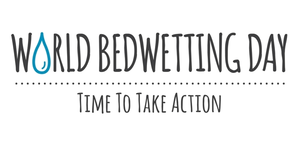 World bedwetting day logo