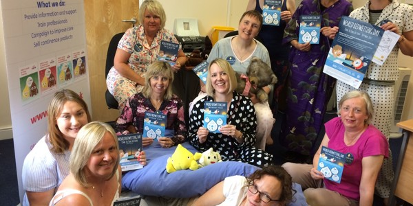 ERIC celebrate World Bedwetting day 2017