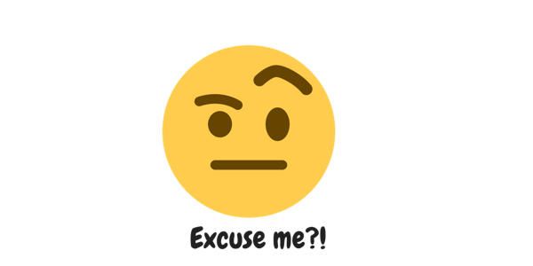 Excuse me emoji