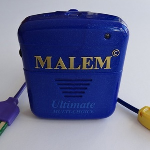 Malem Ultimate Multi-Choice bedwetting alarm with flat plate sensor (M017)