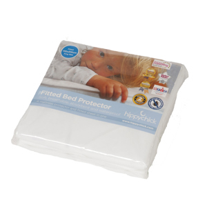 Hippychick single fitted sheet mattress protector