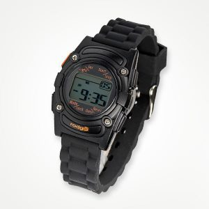 Rodger vibrating watch - black