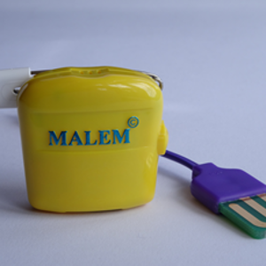 Malem™  bedwetting alarm with 8 random sounds (MO3(8) with flat plate sensor