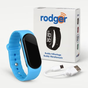 Rodger Buddy  Blue Vibration Watch