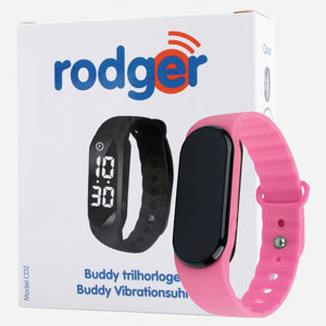 Rodger Buddy Pink  Vibration Watch