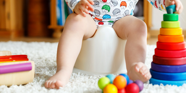 More children toilet training later – how early years can help parents